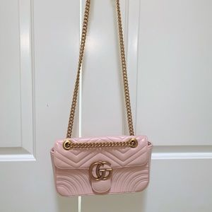 GG Marmont 2.0 Medium Quilted Shoulder Bag